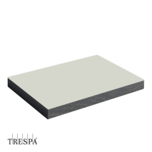 TRESPA® A0310 enkelzijdig 3650x1860x6mm Pastel Grijs Satin