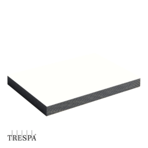 TRESPA® A0500 enkelzijdig 3650x1860x8mm Puur Wit Satin