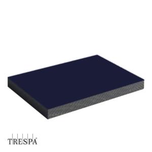 TRESPA® A2072 enkelzijdig 3050x1530x6mm Donker Blauw Satin