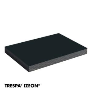 TRESPA® IZEON® RAL 7021 enkelzijdig 305x153cm Zwartgrijs