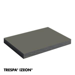 TRESPA® IZEON® RAL 7039 enkelzijdig 305x153cm Kwartsgrijs