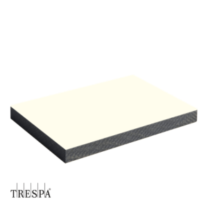 TRESPA® A0300 Wit enkelzijdig 2550x1860x8mm Satin