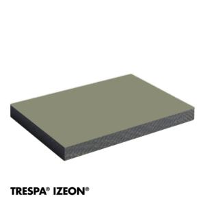 TRESPA® IZEON® RAL 7030 enkelzijdig 305x153cm Steengrijs