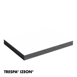 TRESPA® IZEON® RAL 9010 enkelzijdig 305x153cm Zuiver Wit