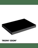 TRESPA® IZEON® RAL 9005 enkelzijdig 305x153cm Gitzwart