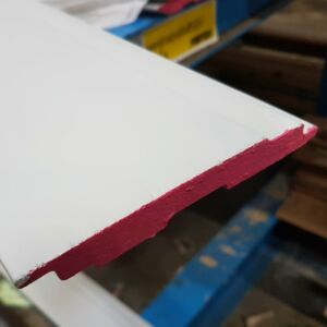 Halfhouts rabat Western Red Cedar gegrond 18x130mm 590cm