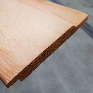Halfhouts rabat Western Red Cedar 18x130mm 490cm