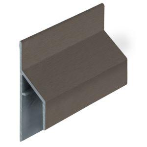 Keralit 2810 Kwartsgrijs trim/kraal aansluitprofiel 17mm