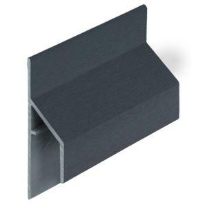 Keralit 2810 Monumentenblauw trim/kraal aansluitprofiel 17mm