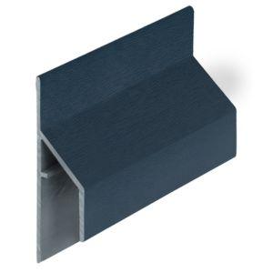 Keralit 2810 Staalblauw trim/kraal aansluitprofiel 17mm