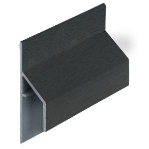 Keralit 2810 Monumentengroen trim/kraal aansluitprofiel 17mm