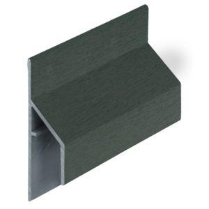 Keralit 2810 Donkergroen trim/kraal aansluitprofiel 17mm