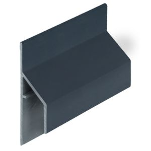 Keralit 2810 Skyblue trim/kraal aansluitprofiel 17mm