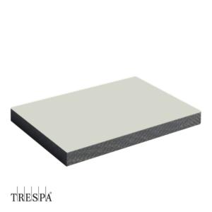 TRESPA® A0310 enkelzijdig 2550x1860x6mm Pastel Grijs Satin
