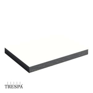 TRESPA® A0500 enkelzijdig 3650x1860x6mm Puur Wit Satin