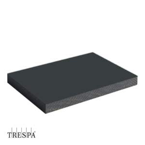 TRESPA® A2581 enkelzijdig 3050x1530x6mm Antraciet Grijs Satin