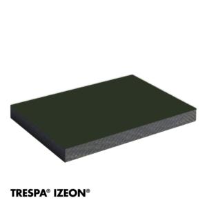 TRESPA® IZEON® RAL 6009 enkelzijdig 305x153cm Dennegroen