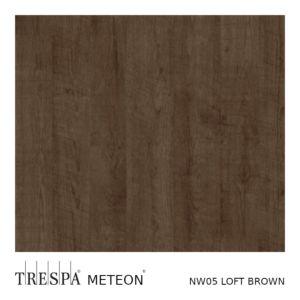 Trespa® Wood Decors NW05 Loft Brown Satin