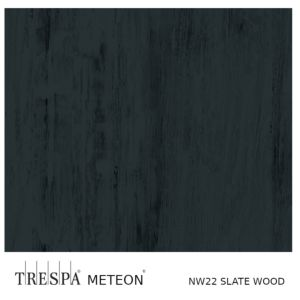 TRESPA® WOOD DECORS NW22 Slate Wood 8mm 255x186cm Enkelzijdig satin
