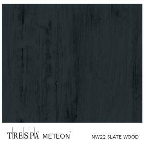 TRESPA® WOOD DECORS NW22 Slate Wood 8mm 255x186cm Enkelzijdig mat