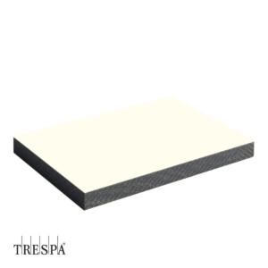 Trespa A0300 Wit enkelzijdig 2550x1860x6mm Satin