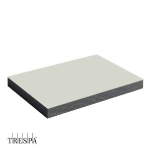 Trespa A0310 enkelzijdig 2550x1860x6mm Pastel Grijs Satin