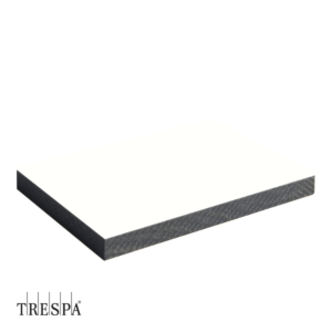 TRESPA® A0500 enkelzijdig 3050x1530x8mm Puur Wit Satin
