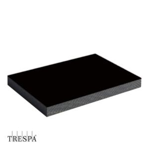 TRESPA® A9000 enkelzijdig 3650x1860x6mm Zwart Satin