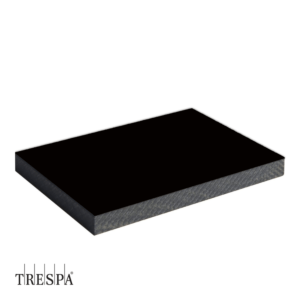 TRESPA® A9000 enkelzijdig 2550x1860x6mm Zwart Satin