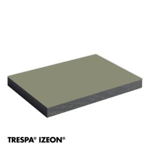Trespa Izeon RAL 7030 enkelzijdig 305x153cm Steengrijs