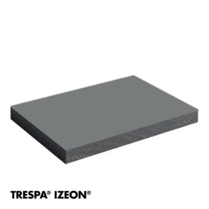 TRESPA® IZEON® RAL 7037 enkelzijdig 305x153cm Stofgrijs