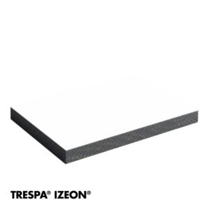 Trespa Izeon RAL 9010 enkelzijdig 305x153cm Zuiver Wit