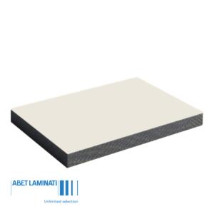 Abet MEG 3050x1300x6mm 819 wit structuur sei dubbelzijdig