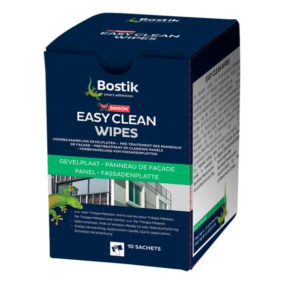 Easy clean doekjes (wipes) voor Trespa®